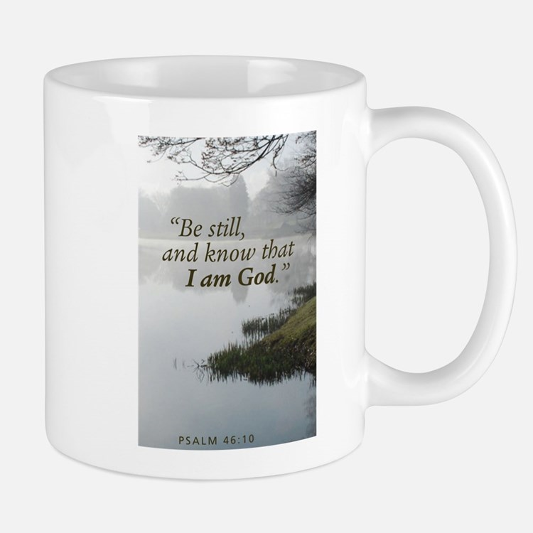 Scripture Mug, Be Still And Know That I Am Mugs