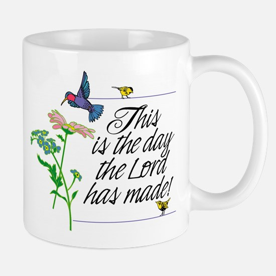 Scripturemug This Is The Day Lord Has Made Mugs