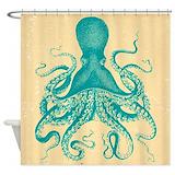 Kraken Shower Curtains