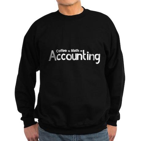 coffee plus math equals accounting Sweatshirt