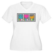 Peace Love Pharmacy Plus Size T-Shirt