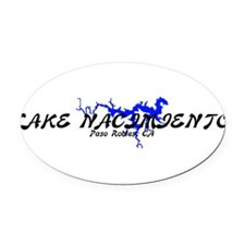 NACI2A.png Oval Car Magnet