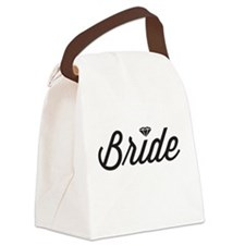 Diamond Bride Canvas Lunch Bag