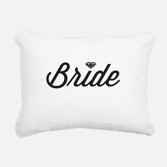 Diamond Bride Rectangular Canvas Pillow
