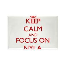 Keep Calm and focus on Nyla Magnets