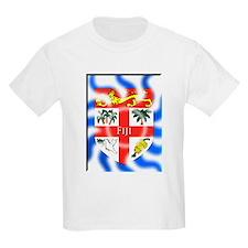 Fiji flag wave design T-Shirt
