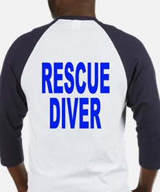 Rescue Diver Baseball Jersey