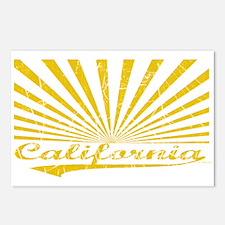 CALIFORNIA SUNRISE Postcards (Package of 8)