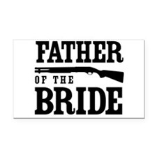 Father of the Bride Rectangle Car Magnet