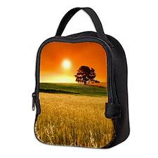 Wheat Field Neoprene Lunch Bag
