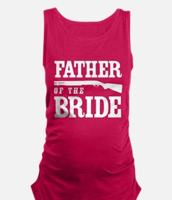 Father of the Bride Maternity Tank Top