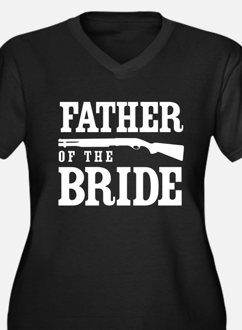Father of the Bride Plus Size T-Shirt