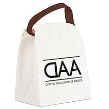 DAA dyslexic association of america Canvas Lunch B