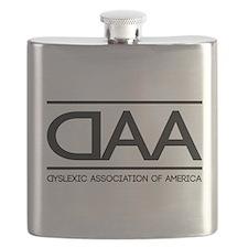 DAA dyslexic association of america Flask