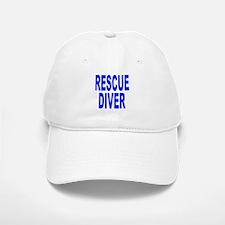 Rescue Diver Blue Baseball Baseball Baseball Cap