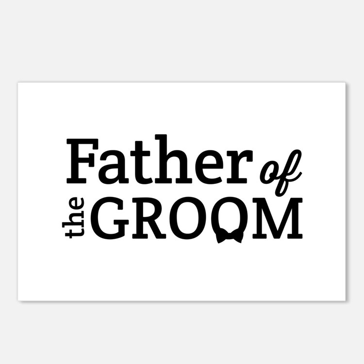 Father of the Groom Postcards (Package of 8)
