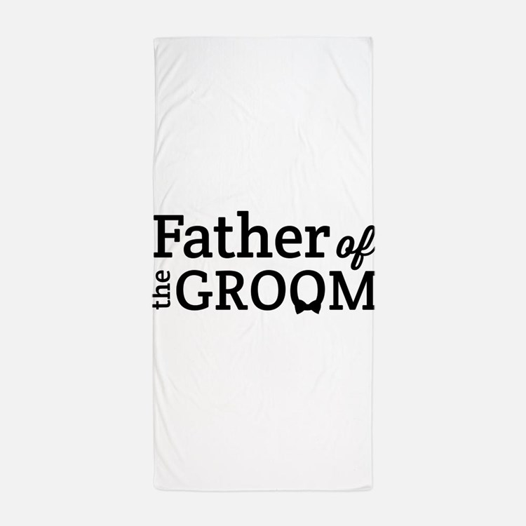 Father of the Groom Beach Towel