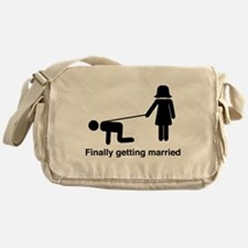 Finally Getting Married Messenger Bag