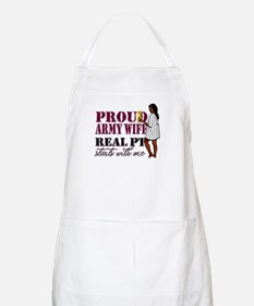 Army Wife Real PT Start With  BBQ Apron
