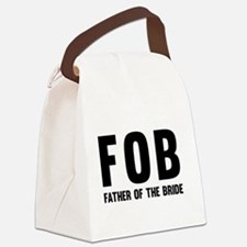 FOB Father of the Bride Canvas Lunch Bag