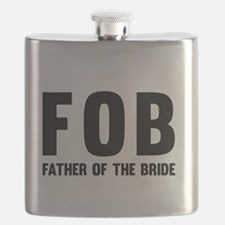 FOB Father of the Bride Flask