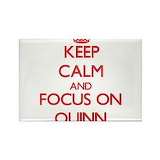 Keep Calm and focus on Quinn Magnets