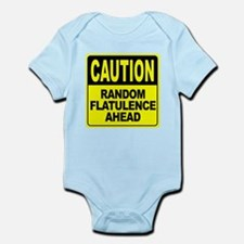 Random Flatulence Ahead Infant Bodysuit
