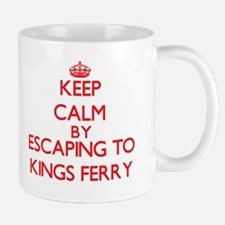 Keep calm by escaping to Kings Ferry Georgia Mugs