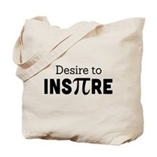 desire to inspire Tote Bag