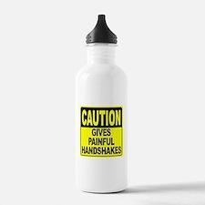 Gives Painful Handshak Water Bottle