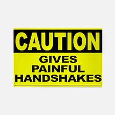 Gives Painful Handshak Rectangle Magnet (100 pack)
