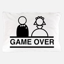 Marriage = Game Over Pillow Case