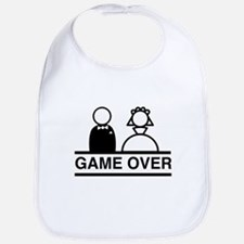 Marriage = Game Over Bib