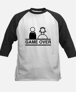 Marriage = Game Over Baseball Jersey