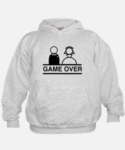 Marriage = Game Over Hoodie