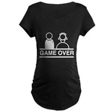 Marriage = Game Over Maternity T-Shirt
