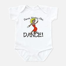 Sock Monkey Dance Infant Bodysuit