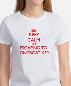 Keep calm by escaping to Longboat Key Florida T-Sh