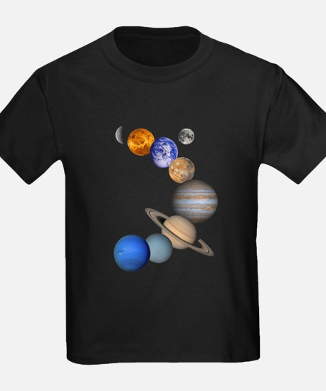 allplanets_onblack_10x10_apparel T-Shirt