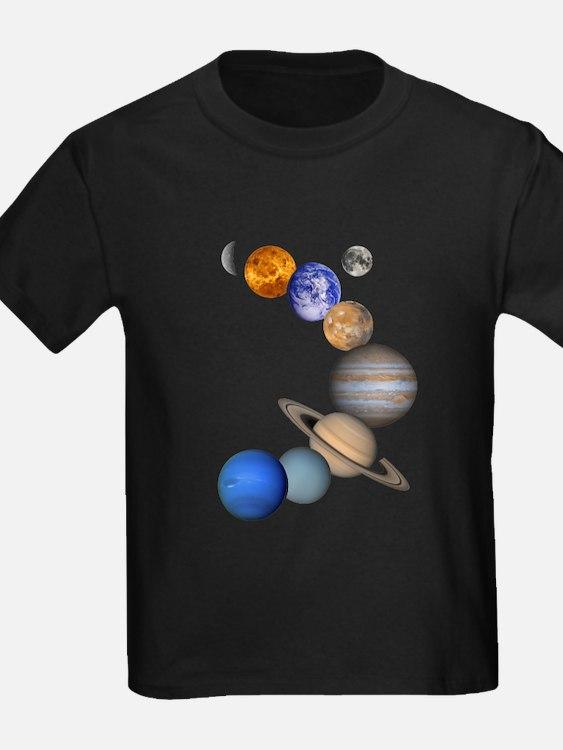 allplanets_onblack_10x10_apparel T-Shirt