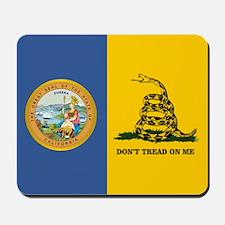 California Gadsden Flag Mousepad