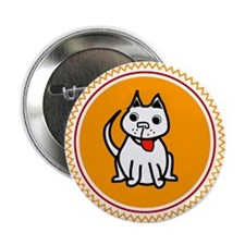 smart dog Button