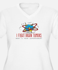 I Fight Brain Tumors Plus Size T-Shirt