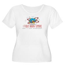 I Fight Brain Tumors Plus Size T-Shirt