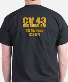 Personalized USS Coral Sea CV-43 T-Shirt