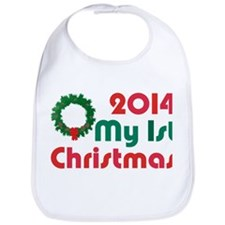 2014 First Christmas Bib