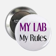"""my lab rules 2.25"""" Button"""