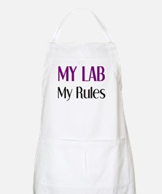 my lab rules Apron