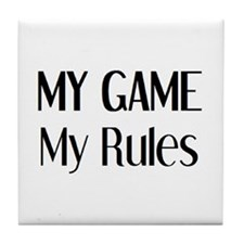 my game rules Tile Coaster