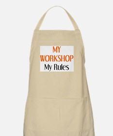 my workshop rules Apron